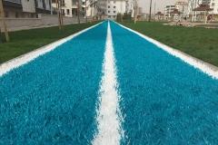 yürüyüş yolu sentetik çim